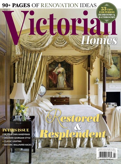 Victorian Homes Cover - 6/1/2018