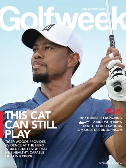 Golfweek Cover - 12/12/2016