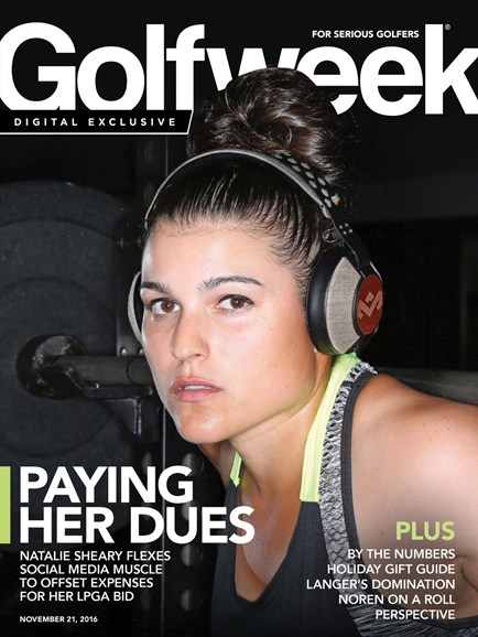 Golfweek Cover - 11/21/2016