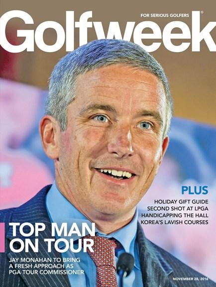 Golfweek Cover - 11/28/2016