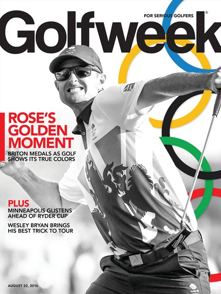 Golfweek Cover - 8/22/2016