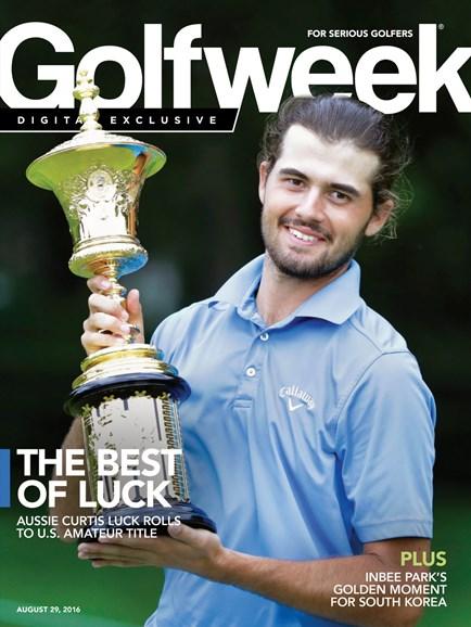Golfweek Cover - 8/29/2016