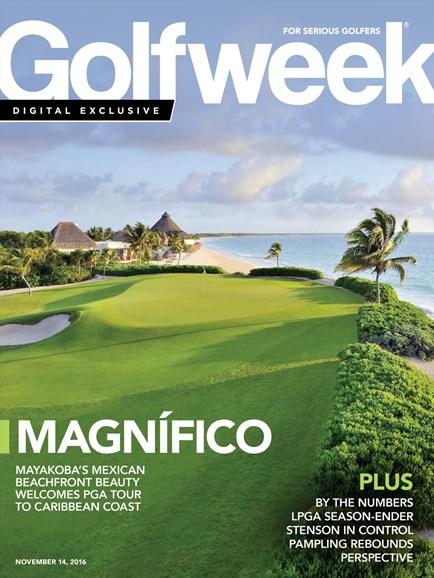 Golfweek Cover - 11/14/2016