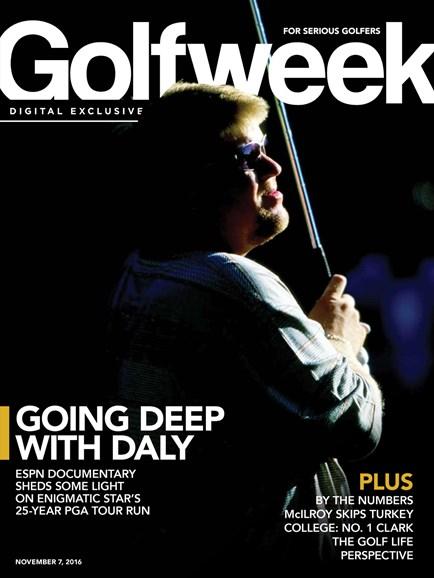 Golfweek Cover - 11/7/2016