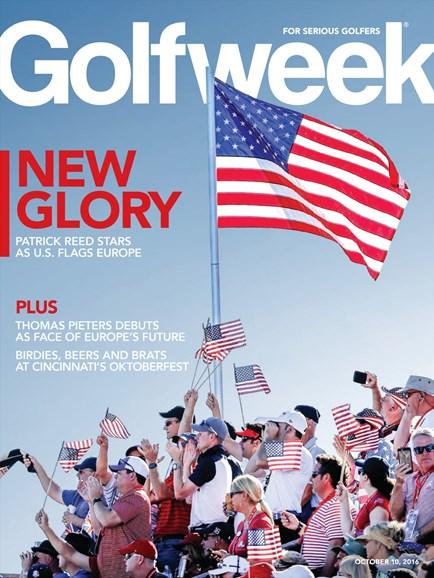 Golfweek Cover - 10/10/2016