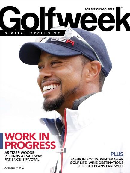 Golfweek Cover - 10/17/2016