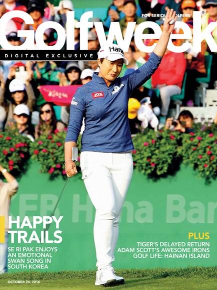 Golfweek Cover - 10/24/2016