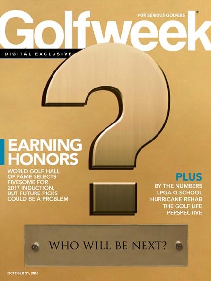 Golfweek Cover - 10/31/2016