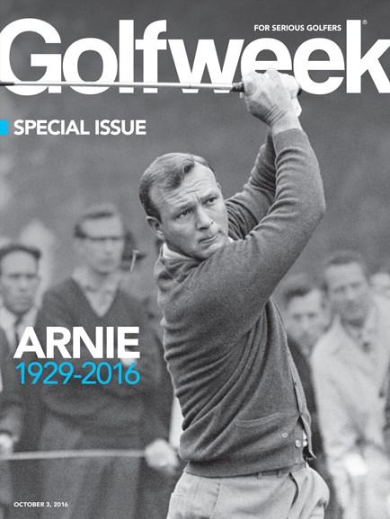 Golfweek Cover - 10/3/2016