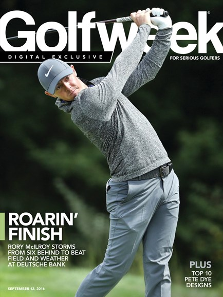 Golfweek Cover - 9/12/2016