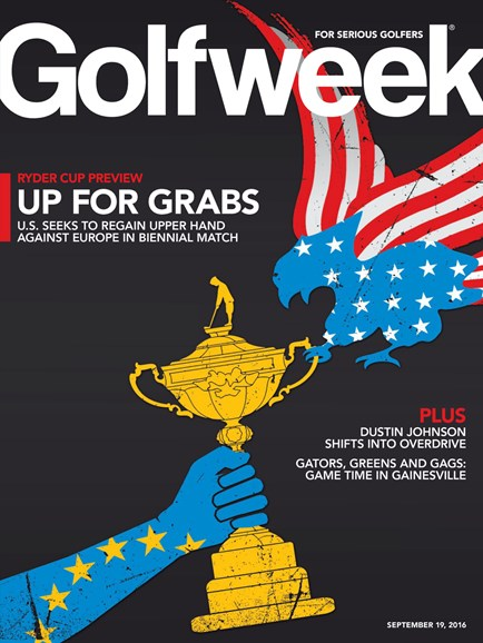 Golfweek Cover - 9/19/2016