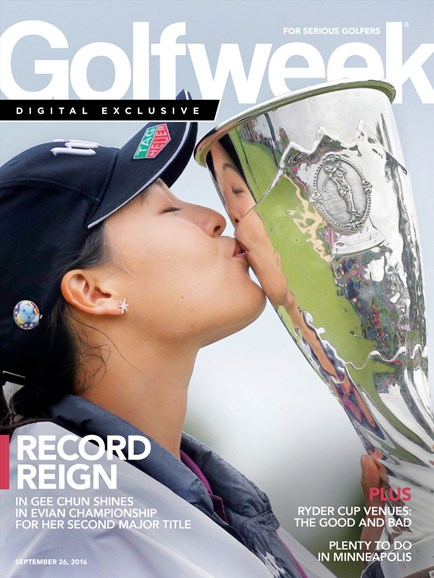 Golfweek Cover - 9/26/2016