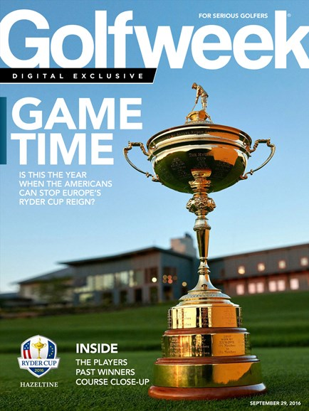 Golfweek Cover - 9/29/2016