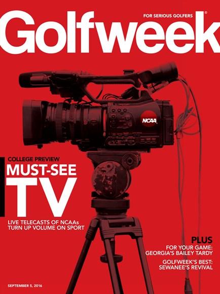 Golfweek Cover - 9/5/2016