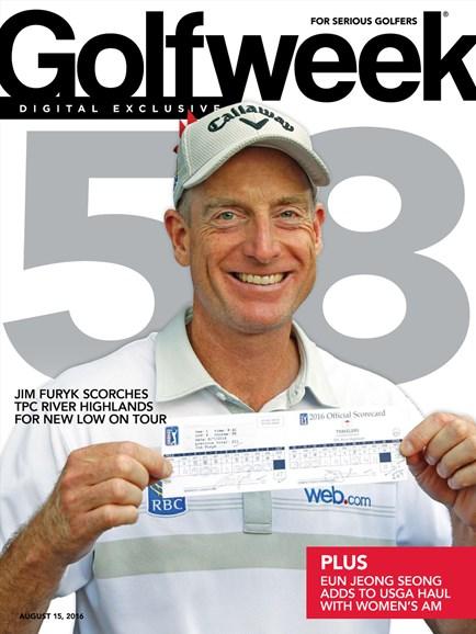 Golfweek Cover - 8/15/2016