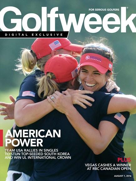 Golfweek Cover - 8/1/2016
