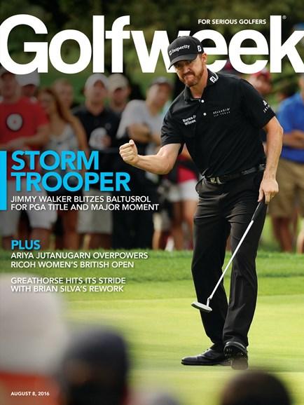 Golfweek Cover - 8/8/2016