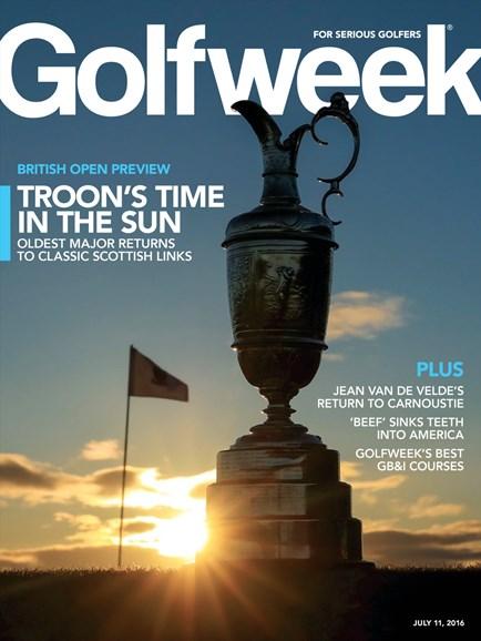 Golfweek Cover - 7/11/2016