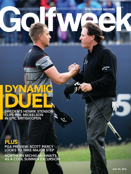 Golfweek Cover - 7/25/2016