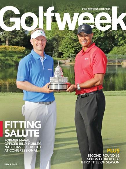 Golfweek Cover - 7/4/2016