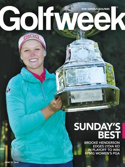 Golfweek Cover - 6/20/2016
