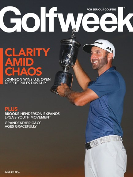 Golfweek Cover - 6/27/2016