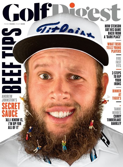 Golf Digest Cover - 10/1/2016