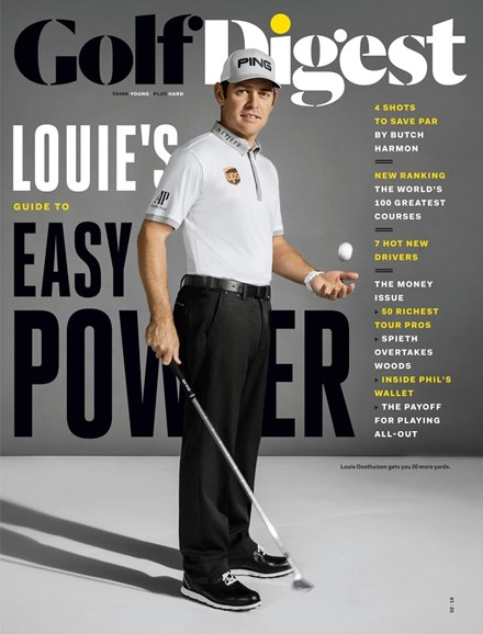 Golf Digest Cover - 2/1/2016