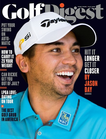 Golf Digest Cover - 7/1/2016