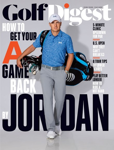 Golf Digest Cover - 6/1/2016