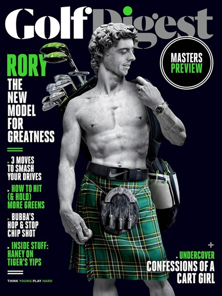 Golf Digest Cover - 4/1/2015