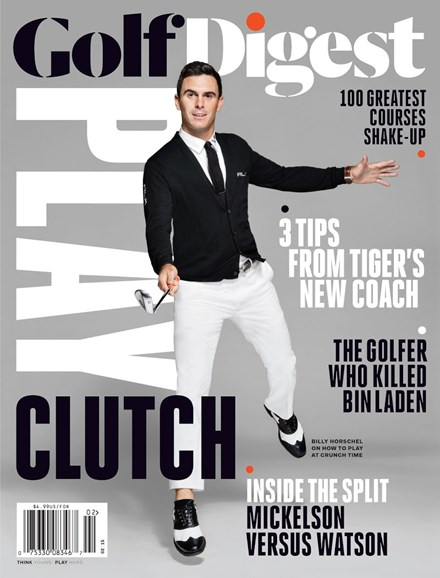 Golf Digest Cover - 2/1/2015