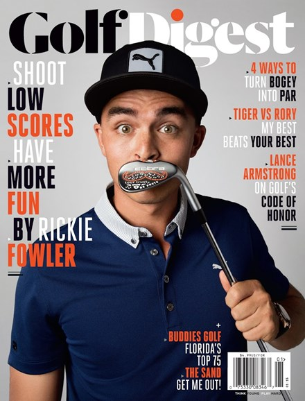 Golf Digest Cover - 1/1/2015