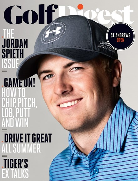 Golf Digest Cover - 7/1/2015