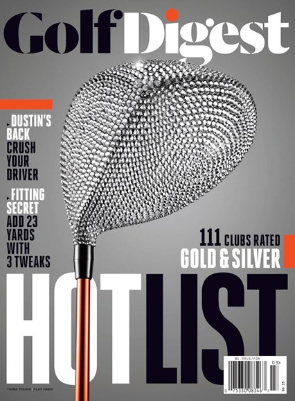 Golf Digest Cover - 3/1/2015