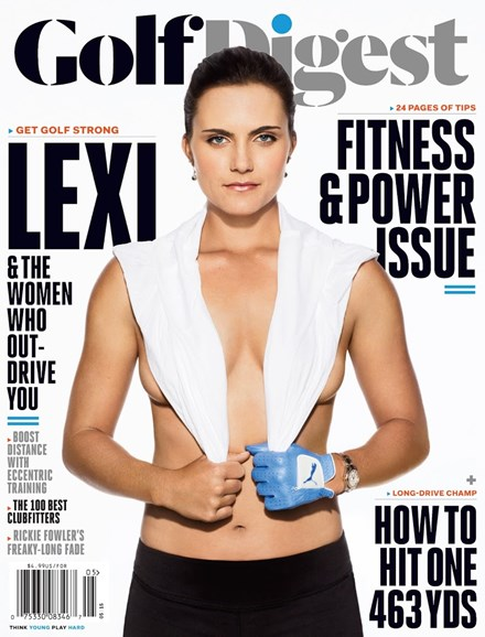 Golf Digest Cover - 5/1/2015