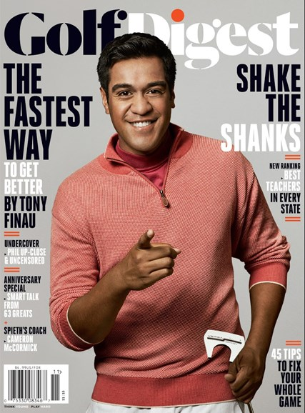 Golf Digest Cover - 11/1/2015
