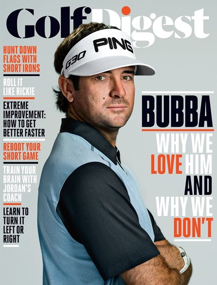 Golf Digest Cover - 9/1/2015