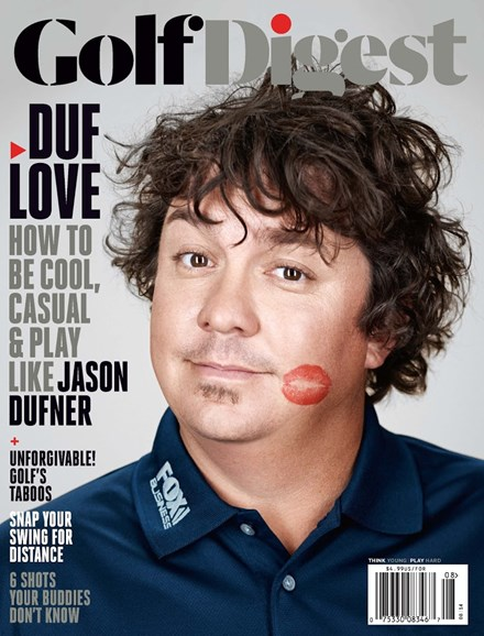 Golf Digest Cover - 8/1/2014
