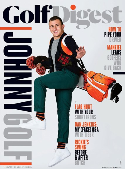 Golf Digest Cover - 12/1/2014