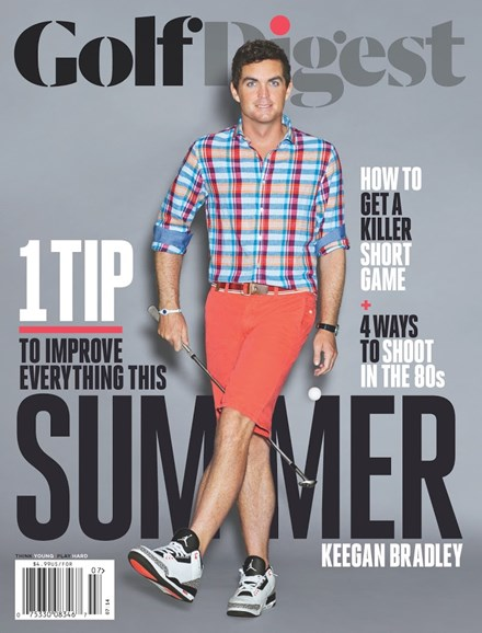 Golf Digest Cover - 7/1/2014