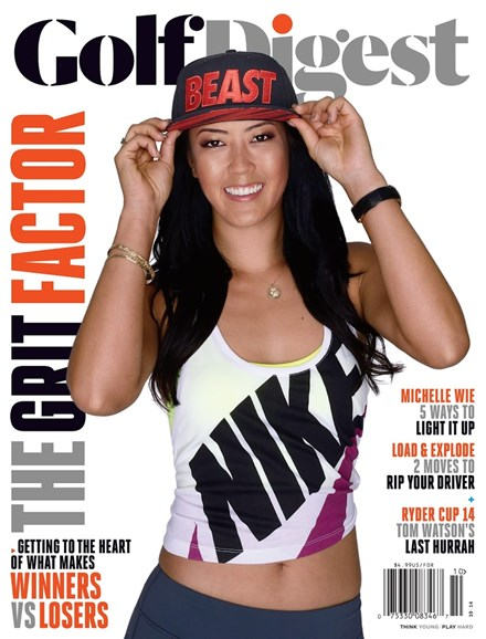 Golf Digest Cover - 10/1/2014