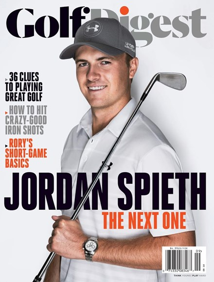 Golf Digest Cover - 9/1/2014