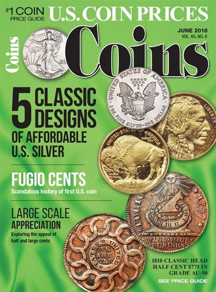 Coins Cover - 6/1/2018