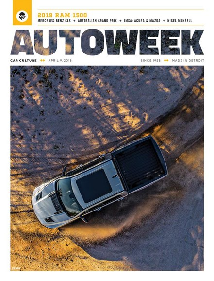 Autoweek Cover - 4/9/2018