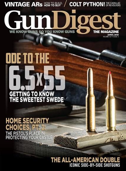 Gun Digest Cover - 4/1/2018