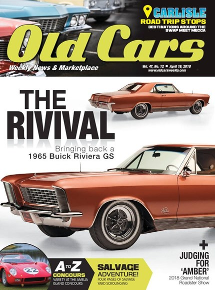 Old Cars Cover - 4/19/2018