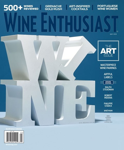 Wine Enthusiast Cover - 5/1/2018