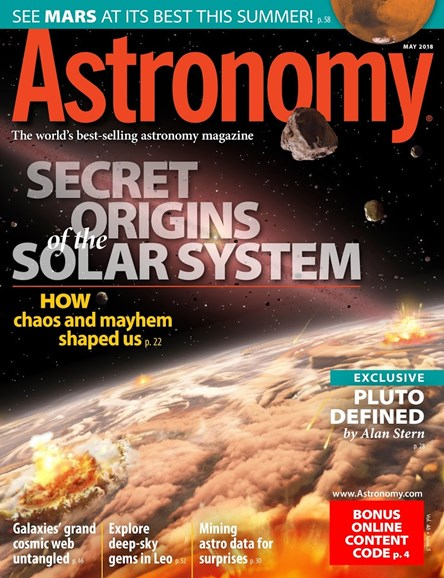 Astronomy Cover - 5/1/2018
