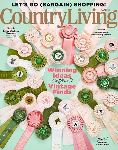 Country Living Cover - 5/1/2018